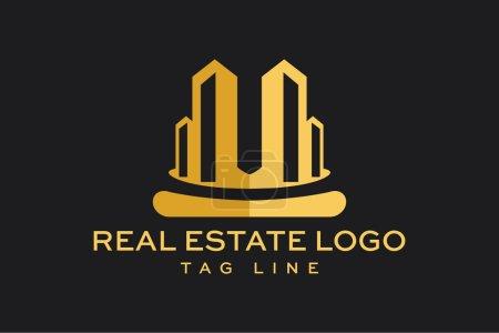 Vector Logo Real Estate Construction