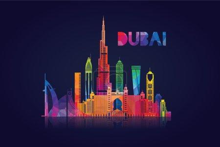 City of Dubai in the United Arab Emirate