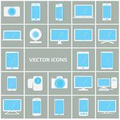 Icon collection monitors
