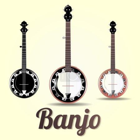 Musical instrument banjo