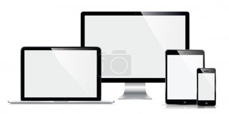 Monitor, computer, laptop, phone, tablet