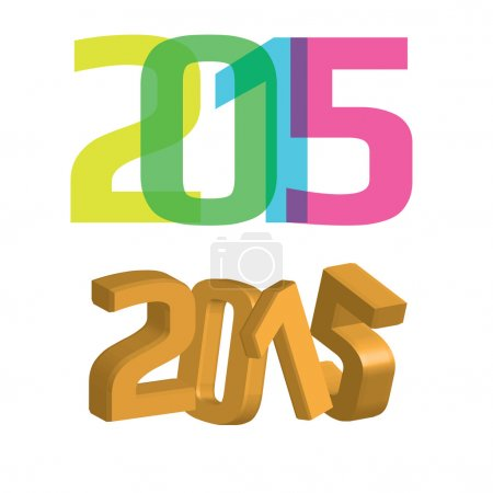 Numbers of the new year 2015