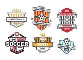Set of logos for sports clubs