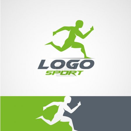 Abstract  design  sports club