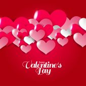Background wallpaper  of love  with hearts