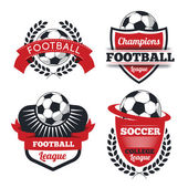 Set of Badges logos for football