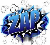 Zap - Comic book cartoon expression