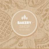 Cardboard bread design template