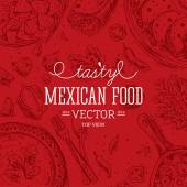 Mexican Food Frame