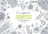 Organická kosmetika rám