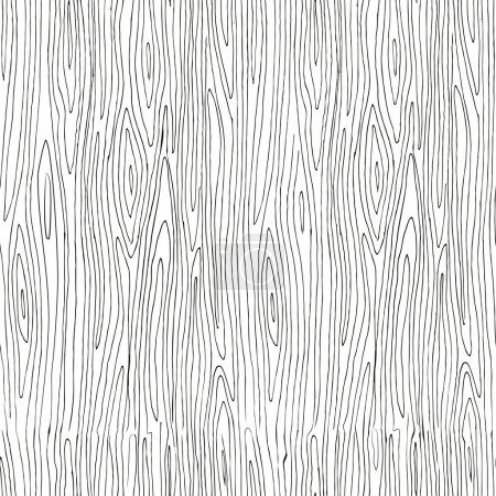 Sketchy wooden texture