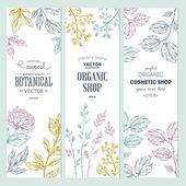 Botanikai banner kollekció