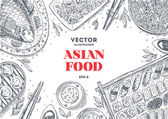Asian Food Frame