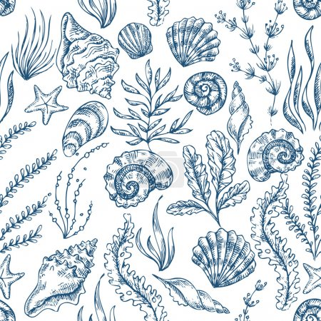 Sea Elements Pattern