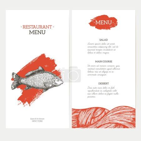 Carp Fish restaurant menu