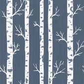 Birch Tree Pattern Vector illustration