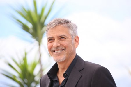 CANNES, FRANCE - 12 MAY 2016: Actor George Clooney attend the 'Money Monster' premiere during the 69th annual Cannes Film Festiva