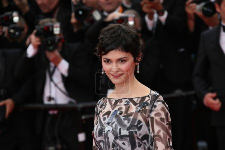 Audrey Tautou attends Grace of