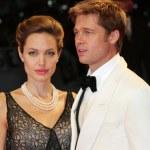 VENICE - SEPT 2: Angelina Jolie and Brad Pitt atte...