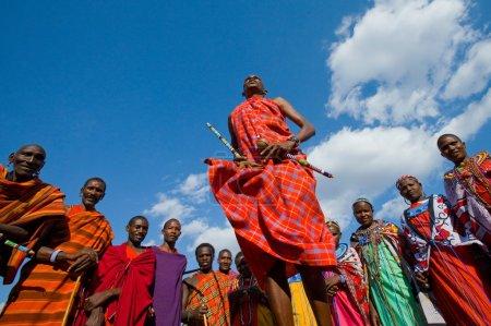 SOUTH KENYA,TANZANIA,MASAI TRIBES, JULY 19,Masai w...