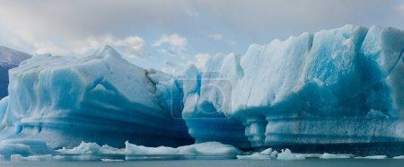 Blaues Gletschereis