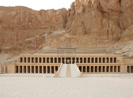 Temple of queen Hatshepsut, Deir el-Bahri, Egypt...