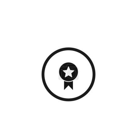 Illustration for Medal award icon. Vector illustration for graphic design, Web, UI, app. - Royalty Free Image