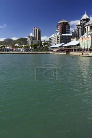 View of Port Louis Mauritius