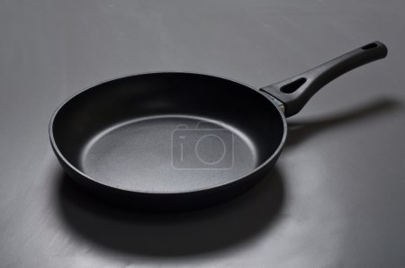 New black frying pan with non-stick coating
