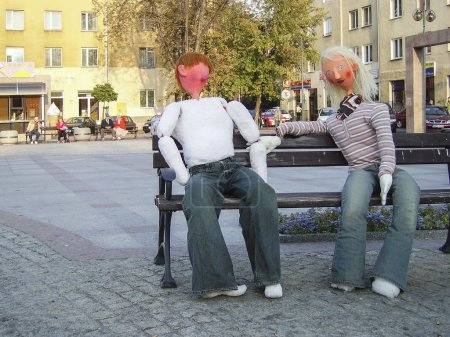Conversation on the bench
