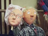 Ein paar der älteren Menschen