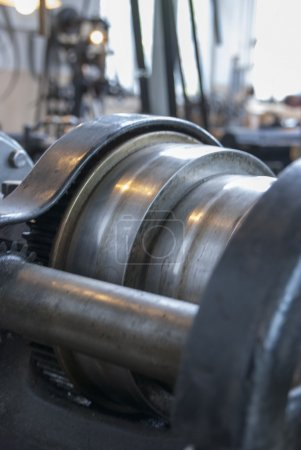 Various sizes of rolling mill rolls for metal