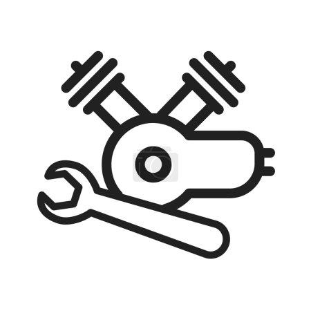 Repair Engine Motor icon