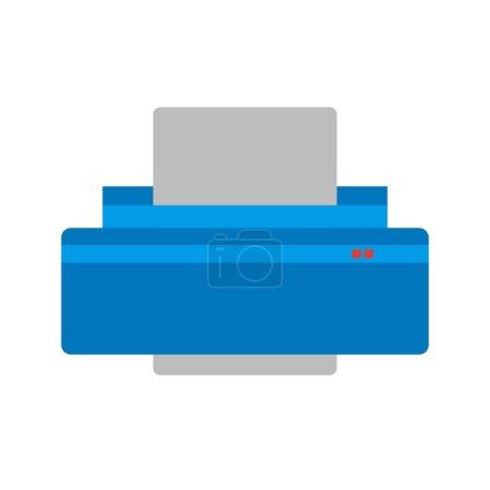 Printer, office icon