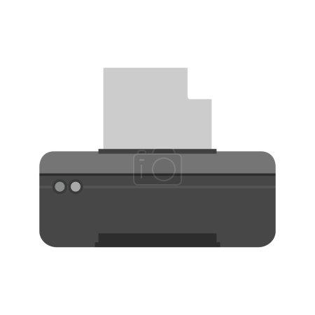 Printer, technology, office icon