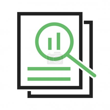 Overview, analysis icon
