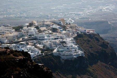 Exotic small town of Santorini