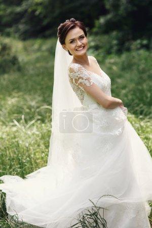 Gorgeous princess bride