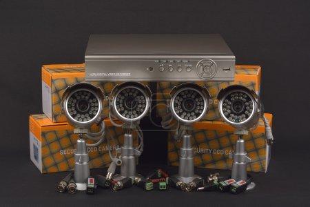 Security camera. surveillance cameras