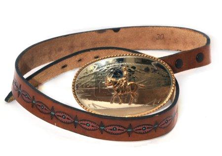 western leatherbelt buckle