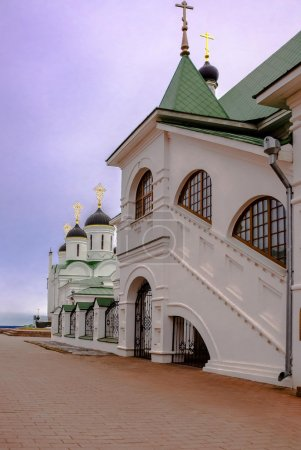 Temples of Russia. Golden Ring.Murom Holy Trinity Monastery.