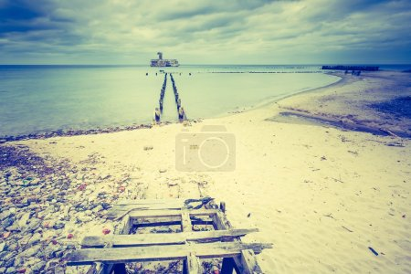Baltic sandy coast