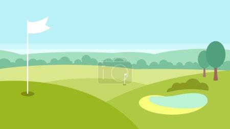 Golf landscape