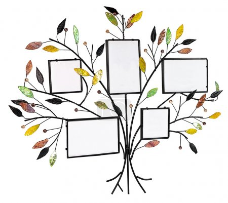 Isolated floral tree with leafs and frames for your photos