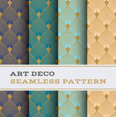 Art Deco seamless pattern 03