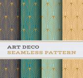 Art Deco seamless pattern 01