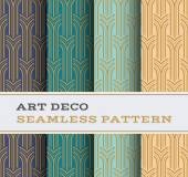 Art Deco seamless pattern 05