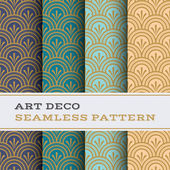 Art Deco seamless pattern 04