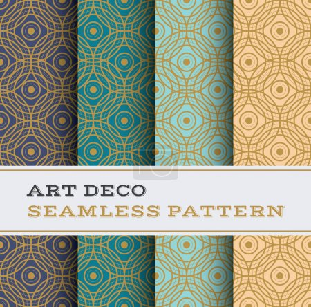 Art Deco seamless pattern 06