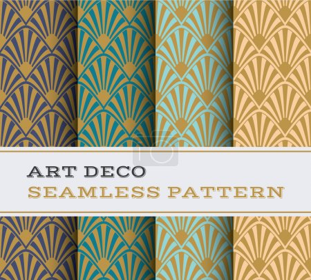 Art Deco seamless pattern 17